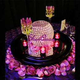 $enCountryForm.capitalKeyWord UK - 20pcs lot,Sliver Gold Votive Candle Holders Wedding Centerpieces Crystal Bowl Candelabra for New Year Home Decoration