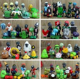 Pvz figures online shopping - 90 Styles PVZ Plants vs Zombies PVC Figure Toys Collection Toys For Children cm