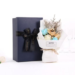 $enCountryForm.capitalKeyWord NZ - 2018 New Wholesale Wedding Bouquet With Box Hybrid Artificial Flowers Bridal Bouquet Valentine's Day Bouquet Wedding Accessories