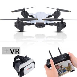 drone box 2019 - SG700 Selfie Drones Rc Drone With Camera With VR Box Wifi Fpv Quadcopter RC Toy For Children Vs Visuo Xs809hw 19HW cheap