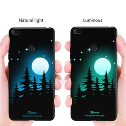 luminous shells cases for iphone UK - High Quality Silicone Protective Back Cover Luminous Scrub Phone Case For iphone 6 6s 7 8 TPU Phone Shell