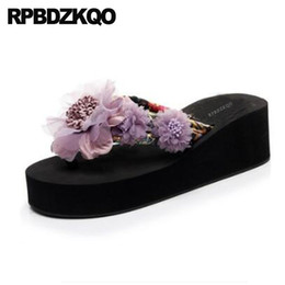 $enCountryForm.capitalKeyWord UK - Most Popular Products Shoes Wedge Slides Floral Print Flatforms Footwear 2018 Women Platform Flower Slippers Sandals Flip Flop