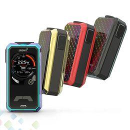 Vaporizer screens online shopping - Original Smoant Charon Mini Box Mod Vaporizer W INCH TFT color screen Fit Dual Battery E Cigarette DHL Free