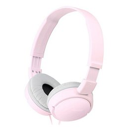 China Newest ZX110 Wired Headphone Headset Foldable Baby Wired Phone boy girl kid headset with retail package cheap black kids mp3 suppliers