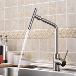 304 Stainless Steel Kitchen Faucet Universal Swivel Sink Faucet