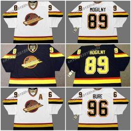 f3b6e39a7 89 alexander mogilny 89 alexander mogilny 96 pavel bure vancouver canucks  1996 ccm vintage home hockey jersey