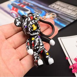 $enCountryForm.capitalKeyWord Canada - Bomgom Cartoon Popobe Gloomy Bear Teddy Bear Cute Keychain Car Key Holder Bag Charm Holder Resin Key Chain Key Ring Pendant
