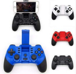 joypad wireless game controller iphone NZ - New Mobile Phone Wireless Game Controller Tablet PC Bluetooth Gaming Controle for iPhone Android Phone Joystick Gamepad Joypad
