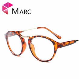 5b856f72d1 MARC WOMEN MEN Reading Optical Plain glass spectacles glasses Literature  and art retro classic Plastic Leopard
