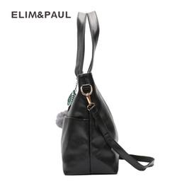 f3ddd3f24943 ELIM PAUL Women Shoulder Bags Female Fashion PU Leather Hobos Women Bag  Crossbody Bag for Women Designer Sac a Main Bolsas