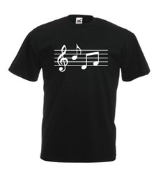 China MUSIC NOTES rock jazz guitar christmas birthday present gift tee ADULT T SHIRTFunny free shipping Unisex Casual tshirt gift cheap jazz guitar necks suppliers