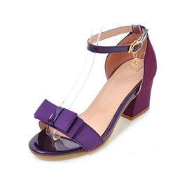 Korean Wedding Cloth Canada - In the summer south Korean version of the new cloth in the thick and open-toed banqueting banquet women's sandals.YN625