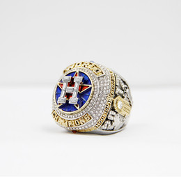 Mais novo Campeonato Série de jóias 2017 2018 Houston Astros Campeonato Mundial de Beisebol Anel Altuve Springer Fan Presente atacado personalizado