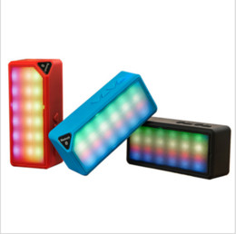 $enCountryForm.capitalKeyWord UK - Wireless Bluetooth Speaker Water Cube Colorful LED Light Colorful Mini X3s Glowing Audio Factory Wholesale Speaker