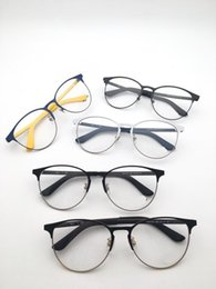 eye frame styles UK - In 2018, the new style of eyeglasses with round frame for men and women will be available in 6 colors 53-20-145In 2018, the new style of eye