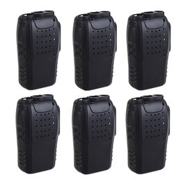 $enCountryForm.capitalKeyWord Australia - 6PCS Silicone Rubber Cover bumper BF-888S Case for baofeng 888s walkie talkie 888 Retevis H777 H-777 two Way cb Radio Holster