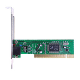 Pci ethernet lan card online shopping - 10 Mbps Adaptive RJ45 PCI Wired Network LAN Adapter Card Networking Cards for Desktop PC High Quality
