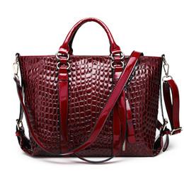 $enCountryForm.capitalKeyWord Canada - 2017 New Fashion Women's Bag Classic Elegant Office Ladies Baguette Tote Handbags Solid Color Wine Red Black Blue Crossbody Bags