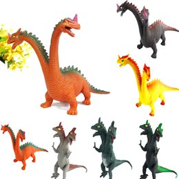 $enCountryForm.capitalKeyWord NZ - 2018 New Dual-headed Dinosaur Toy Plastic Double-Headed Dragon Doll Simulated Dinosaur Model Decoration Sounded two dinosaurs one bag