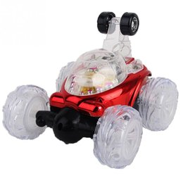 China Stunt Car with Light Music RC Car Remote Control Toy Electric Toy Dancing Dump Dumper Rolling Rotating Wheel Vehicle Truck cheap cars dump suppliers