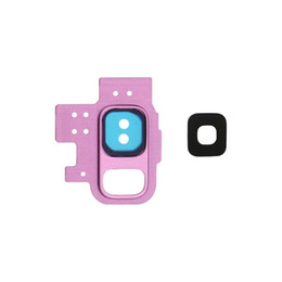 Camera tape online shopping - New Rear Back Camera Lens Glass Cover Ring with Adhesive Sticker Tape For Samsung Galaxy S9 S9 Plus Replacement Parts