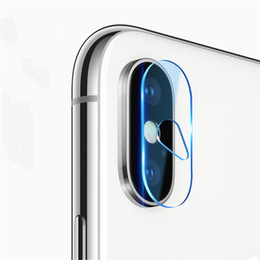 Tempered glass fronT back online shopping - 9H Tempered glass for iphone X XR XR MAX camera lens mm protective back cover protector for new iPhone model
