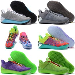 59ca31382d6 2018 Cheap Sale Official kobe 12 AD XII Derozan Black Red Purple Basketball  Shoes for High quality Mens KB 12s EP Sports Sneakers Size 40-46