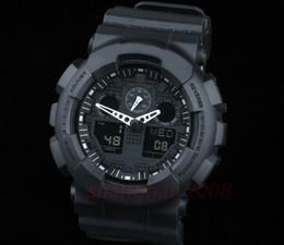 c9c95e986c79 Nuevo color original Todas las funciones Led Relojes militares del ejército  Para hombre Reloj impermeable Reloj de pulsera digital con todo el puntero  ...
