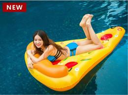 2018NEW плавать кольцо пицца поплавки крепления плавать кольца ПВХ воды надувные пицца поплавки взрослых водные виды спорта пляж и ездить