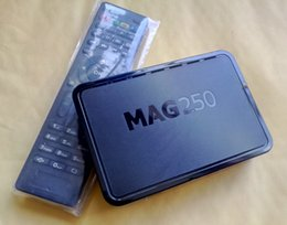 Stb iptv online shopping - Brand New MAG250 Linux OS OTT Set Top Boxes IPTV STB Box MAG245 R22 Firmware Internet Media Player