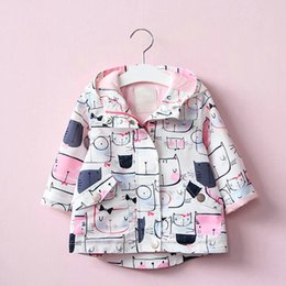 Boutique Jackets NZ - Babyinstar New 2018 Boutique Costume for Kids Hooded Jacket Coats Toddler Girl's Casual Pattern Outfits Tops For Children