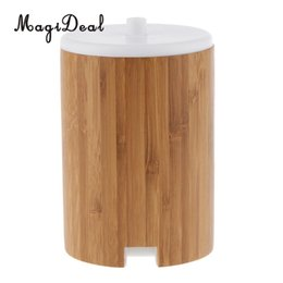 $enCountryForm.capitalKeyWord UK - Bamboo Essential Oil Aroma Diffuser Cool Mist Humidifier 150 ml Auto Shut-off Aroma Oil Diffuser with 7 LED Lights US Plug
