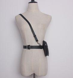 Marca PU Strap Cintura Cinto com Bolsa Bolsa Para Mulheres Das Senhoras Do Punk Harajuku Harness Cintos Cintos Saco em Promoção
