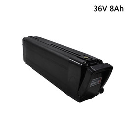 bicycle scooters Australia - 36V 8Ah Electric Bicycle Lithium ion Battery for Bafang BBS02 BBSHD 250W 600W Motor E-Scooter Lithium Battery 36v Free Shipping