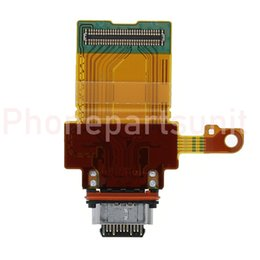 Charging Connector Types Australia - New For Sony Xperia XZ2 Compact H8314 Dual H8324 USB Charge Port Charging Port Flex Cable USB Type-C Connector Board Replacement Parts