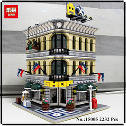 Grand models online shopping - IN STOCK LEPIN City Grand Emporium Model Building Blocks Kits Brick Toy Compatible Educational toys