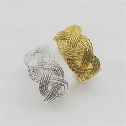$enCountryForm.capitalKeyWord Canada - Unique Party Napkin Rings Weddings Napkin Rings Gold Stainless Steel Napkin Rings Silver Supply Table Decoration