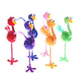$enCountryForm.capitalKeyWord Australia - 1PC Funny Ostrich Ballpoint pen Student Stationery Random Color Creative Cartoon Office & School Pen Gifts HOT