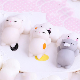 $enCountryForm.capitalKeyWord NZ - Mini Cute cat Wipes antistress ball Squeeze Mochi Rising Toys Abreact Soft Sticky squishi stress relief toys funny gift Relief