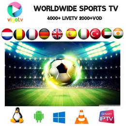 China VIGO IPTV Arabic,Turkish ,Scandinavia,UK,Brazil Portugal Pakistan channels 4000+ live 2500+ vod film EPG on Smart tv android tv box cheap android smart tv receiver suppliers