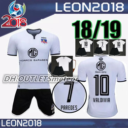 0ca385c78 best Adult kitS 2018 colo colo Soccer jersey University 18 19 Chile Club  home Sports shirts men soccer jerseys set football maillot de foot