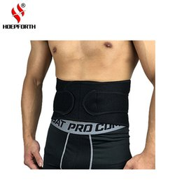 Wholesale 2018 New Arrive Hopeforth Sports Belt Waist Support Belt To protect the waist Cycling Running Basketball Volleyball Waist Protection