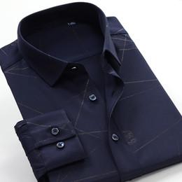 $enCountryForm.capitalKeyWord Canada - New Bamboo Fiber Mens long sleeve high quality shirts formal dress shirts very big large plus size M-4XL5XL6XL7XL8XL9XL 10XL