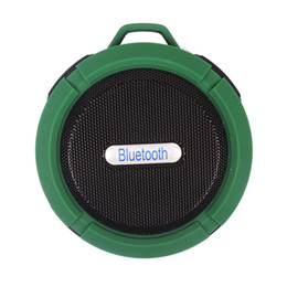 Factory Direct Audio Australia - Single-p C6 waterproof bluetooth speaker outdoor sports suction cup mini small speaker phone car, the low-pitched sound factory direct sales