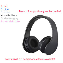 Wholesale 2018 brand wireless headphones noise cancelling sealed earphones bluetooth free DHL new colors avaible
