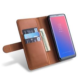 Black Blocks Australia - Women's RFID Blocking Large Capacity Luxury Wax Genuine Leather Clutch Wallet Card Holder by RUNBOX