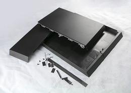 Para Sony PS4 Console 1200 Cor Preta Para Playstations 4 Console Habitação Caso Full House Shell Tem Logotipo de Alta Qualidade em Promoção