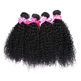$enCountryForm.capitalKeyWord UK - 4 Bundles Brazilian Virgin Hair Weaves Kinky Curly Hair Wefts Extensions for Afircan Women Wholesale and Retail