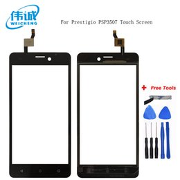 touch screen digitizer prestigio UK - WEICEHNG Top Quality for For Prestigio Wize N3 NX3 NK3 3507 psp3507 Duo touch screen Digitizer Glass Panel Assembly Replacement