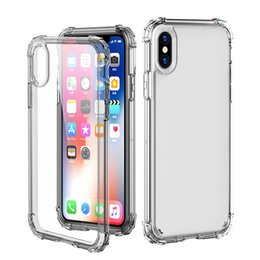 China Crystal Clear HD Transparent Soft Silicone TPU Case Back Cover Shock Absorption Bumper Anti-Fingerprint Anti-Scratch for iPhone X Goophone X cheap iphone bumper clear back cases suppliers